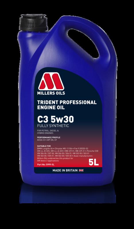 Trident Professional C3 5w30