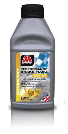 Performance Brake Fluid DOT 5.1