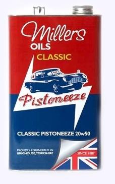 Classic Pistoneeze 20w50 5l