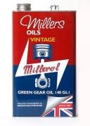 Vintage Green Gear Oil 140 GL1 5l