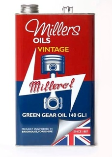 Vintage Green Gear Oil 140 GL1 5l