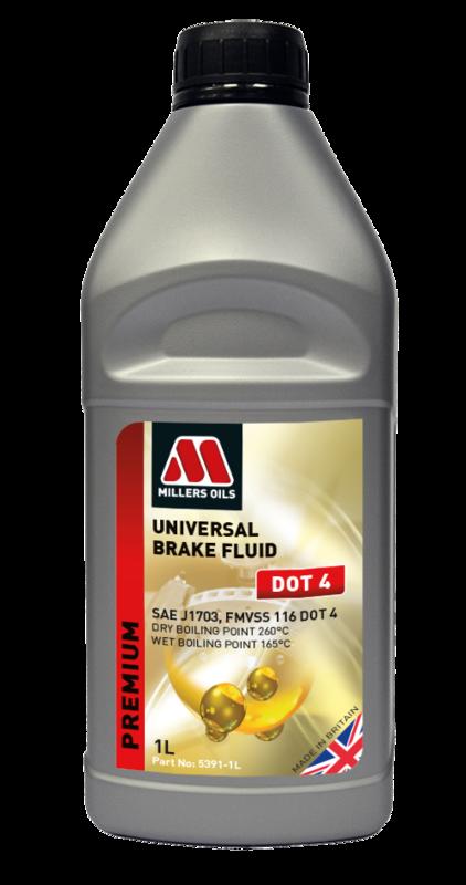 Universal Brake Fluid DOT 4