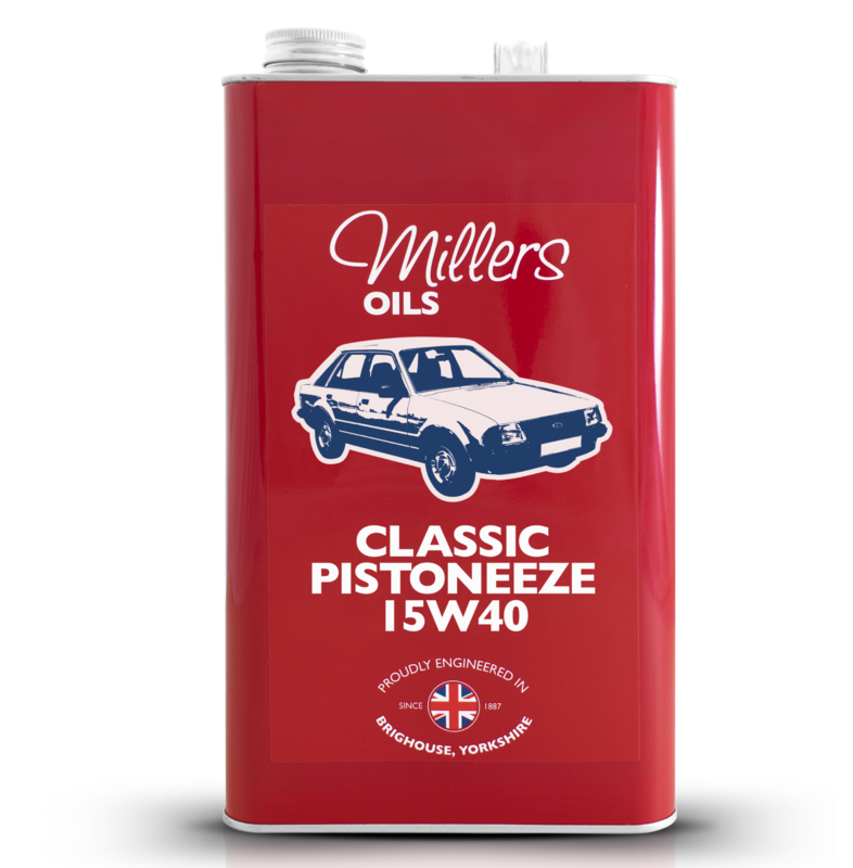 Classic Pistoneeze 15w40 5l
